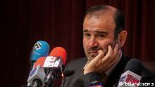 Iran Chef der Teheraner Börse, Hassan Ghalibaf Asl