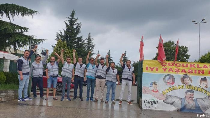 Cargill çalışanları