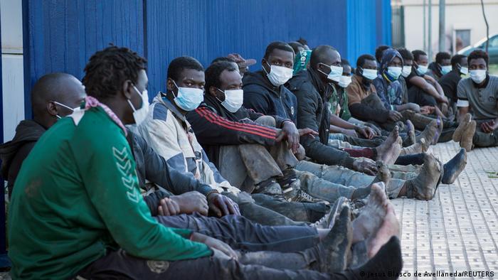Spanien Flüchtlinge Zaun Überquerung Melilla