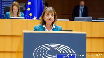 Maria Manuel Leitao Marques, eurodiputada portuguesa de la socialdemocracia.