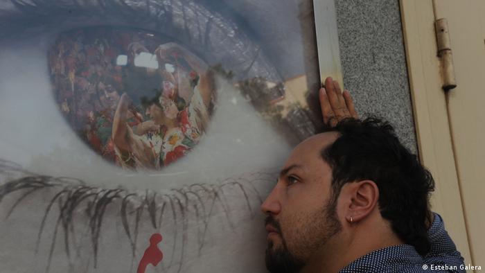 """Ivo Maldonado, organizador Festival de cine """"Extramuros""""."""