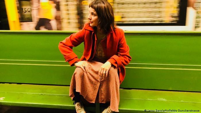 Elsye Suquilanda, autora ecuatoriana residente en Berlín y jurado del Festival.