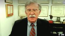 Screenshot DW Interview John Bolton