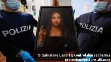 کپی تابلوی منجی جهان که بدون اطلاع مسئولان موزه به سرقت رفته بود