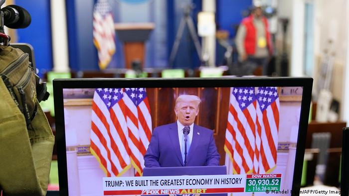 پیام ویدیویی دونالد ترامپ