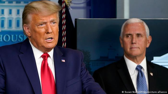 Pence nimmt nicht an Trump-Abschied teil