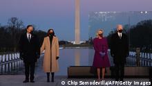 USA | Washington | Gedenken an die Opfer der Coronavirus-Pandemie im Lincoln