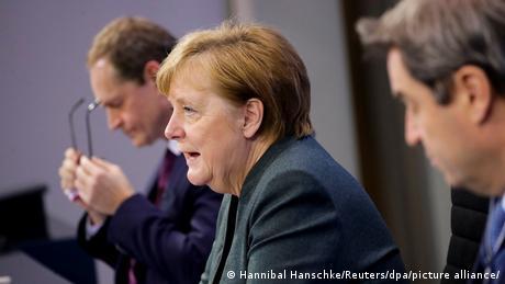 Deutschland Angela Merkel verkündet neue Corona-Beschlüsse