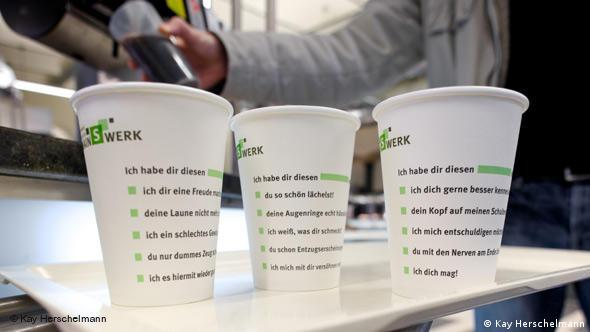 Coffee-to-go-Becher des Studentenwerks Frankfurt
