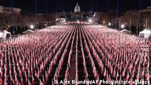 USA | Washington | Gedenken an die Opfer der Coronavirus-Pandemie