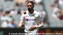 Indien MD Siraj, Cricketspieler