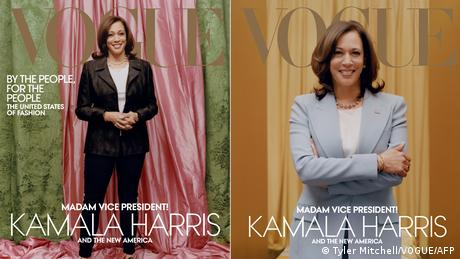 Cover Vogue Kamala Harris