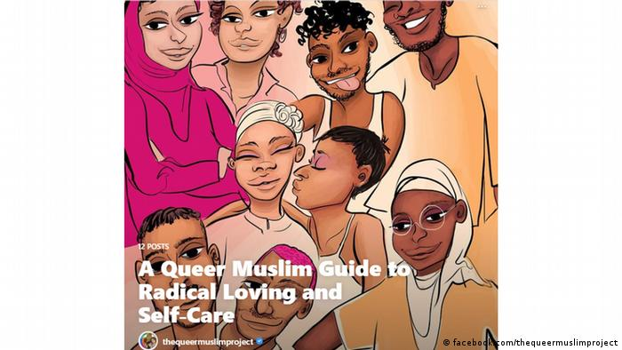 A Queer Muslim Project poster