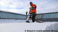 BdT Deutschland Allgäu |Entfernung Schnee mit Staubsauger