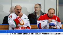 Russland Putin und Lukaschenko