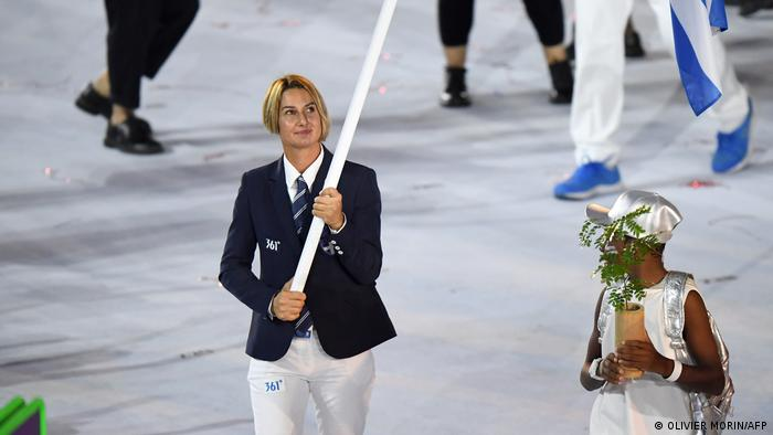 #Meetoo-Debatte Griechenland | Sportlerin Sofia Bekatorou