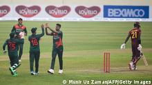Bangladesch Dhaka | Cricket - Bangladesh v West Indies