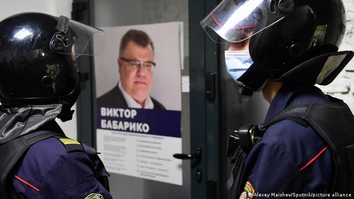 Belarus Minsk |Viktor Babariko, Präsidentschaftskandidat 2020