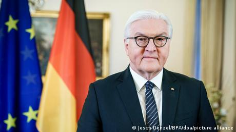 Steinmeier, who is Germany's head of state, expressed hope that people would soon be able to come together