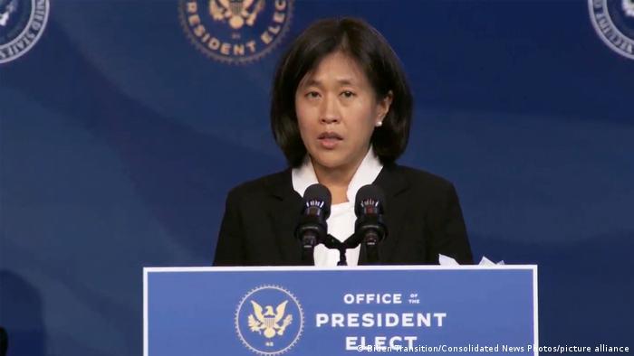 USA Willmington 2020 |Katherine Tai, designierte US-Handelsbeauftragte