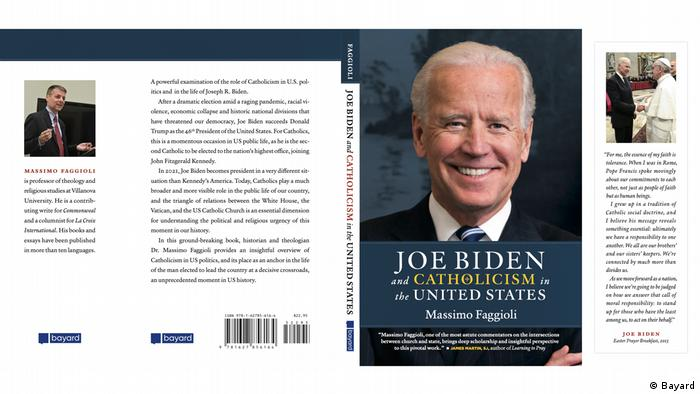 Cover of book on Joe Biden by Massimo Faggioli