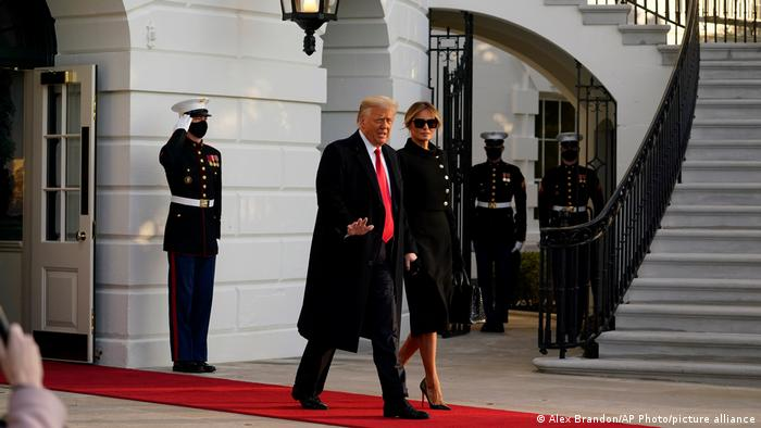 Дональд Трамп покинул Вашингтон | Новости из Германии о событиях в мире |  DW | 20.01.2021