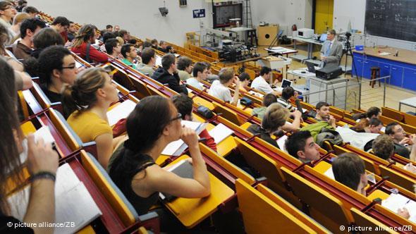 In Deutschland besonders viele Studenten in MINT-Fächern