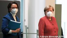 Deutschland Fachkommission Integrationsfähigkeit | Annette Widmann-Mauz und Angela Merkel