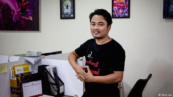 Banyar Kyaw von der Zeitung Frontier Myanmar