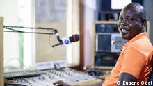 Ghana Noah Dameh Programmchef von Radio Ada in Ghana