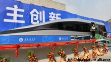 China Magnetschwebebahn in Chengdu