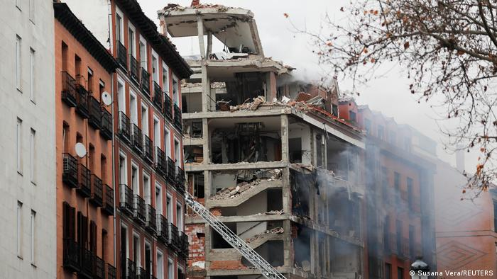 Spanien Explosion in Madrid