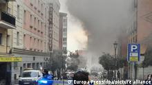 Spanien Madrid | Mehrstöckiges Gebäude in Madrid bei Explosion zerstört