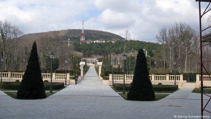 Putin-Palast beim Schewtchenko-Besuch