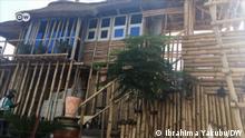 Bamboo house in Nigeria, Kaduna