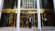Trump tower is pictured amid the coronavirus disease (COVID-19) pandemic in the Manhattan borough of New York City, New York, U.S., January 20, 2021. REUTERS/Carlo Allegri
