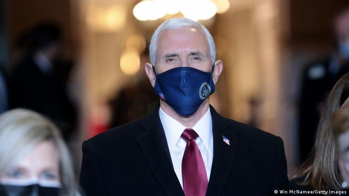 USA Washington | Amtseinführung: Joe Biden - Mike Pence