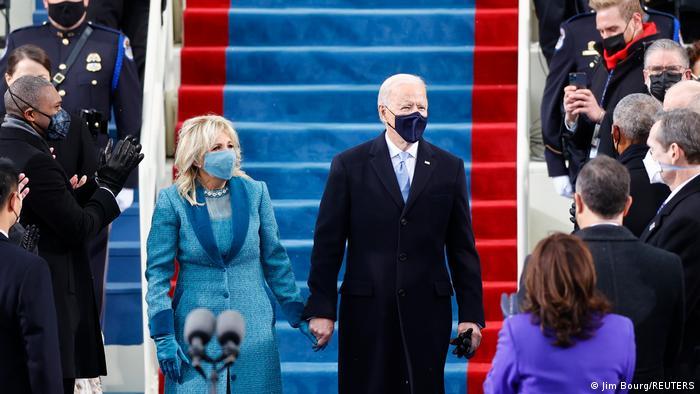 Джо Байден разом з дружиною Джилл