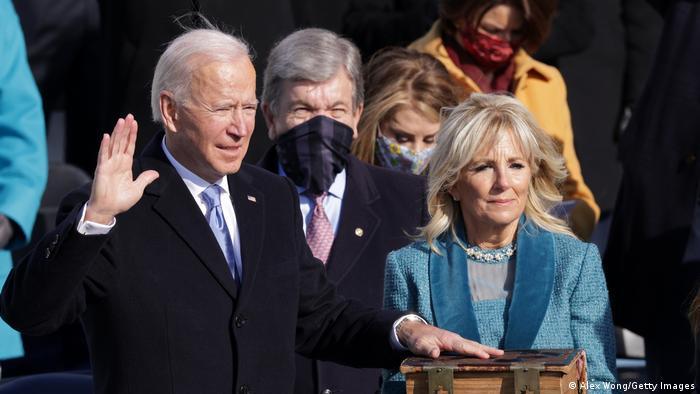Pelantikan Joe Biden di Washington D.C, Amerika Serikat