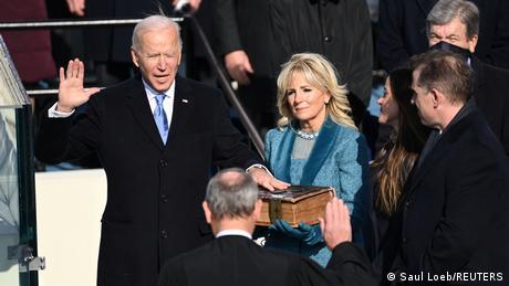 Джо Байден складає присягу і стає 46-м президентом США