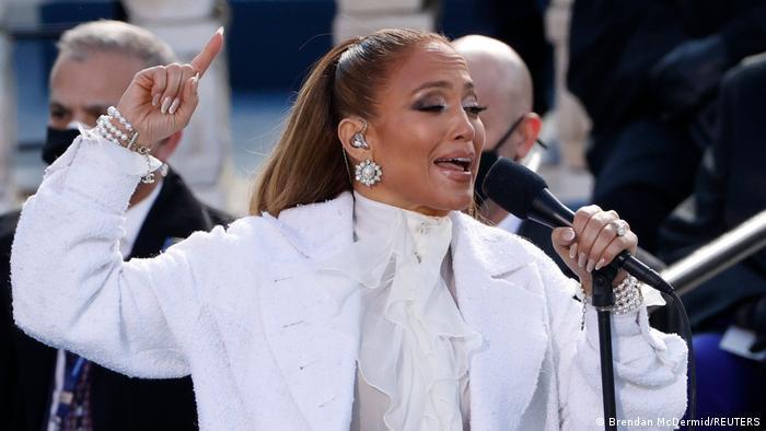 USA Washington | Amtseinführung: Joe Biden Jennifer Lopez