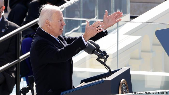 Joe Biden, törende yaptığı konuşmada Amerikalılara birlik mesajı verdi