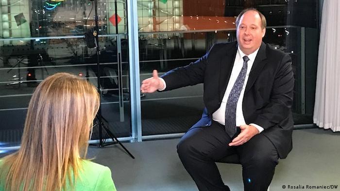 DW Interview mit dem Kanzleramtchef Helge Braun