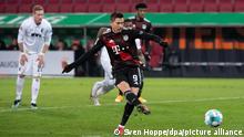 Deutschland Bundesliga - FC Augsburg v Bayern München - Tor: (0:1)
