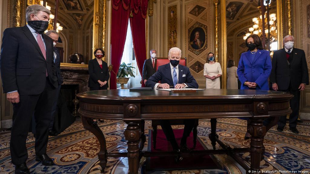 Biden suspende las deportaciones durante 100 días | NRS-Import | DW |  21.01.2021