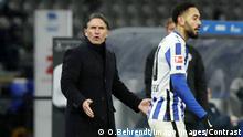 Trainer Bruno Labbadia unzufrieden