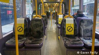 Трамвай в Дублине