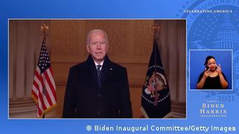 USA Washington | Inauguration von Joe Biden | Celebrating America | Joe Biden