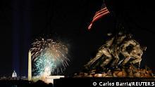 USA Washington | Amtseinführung Biden | Feuerwerk
