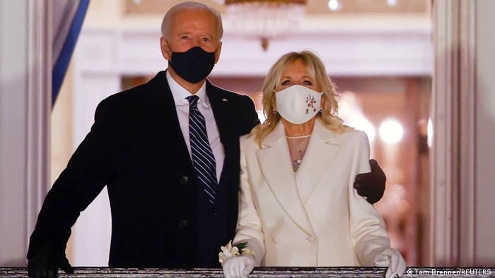 Байдън със съпругата си